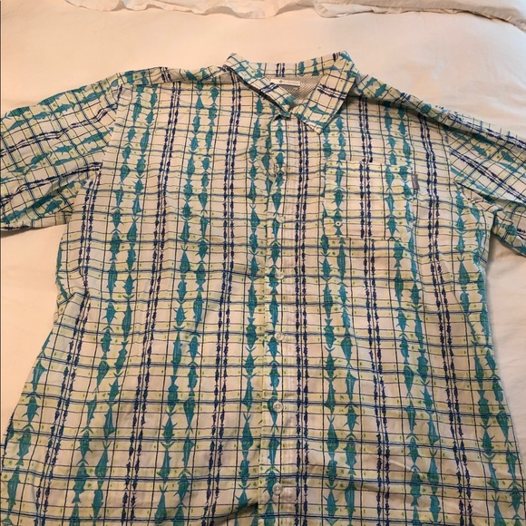 Columbia Other - Patterned Columbia PFG shirt